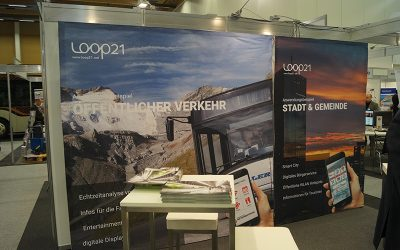 LOOP21 on the trade fair of the federal conference of bus transport in Wels