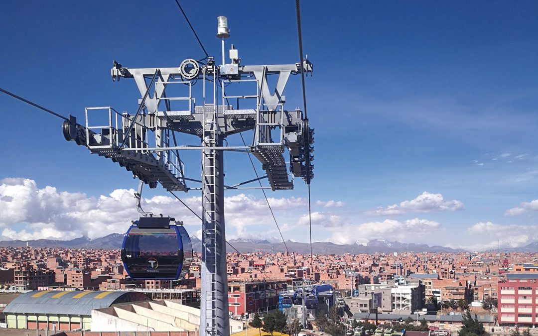 About Wi-Fi and Network solutions for urban cable car systems